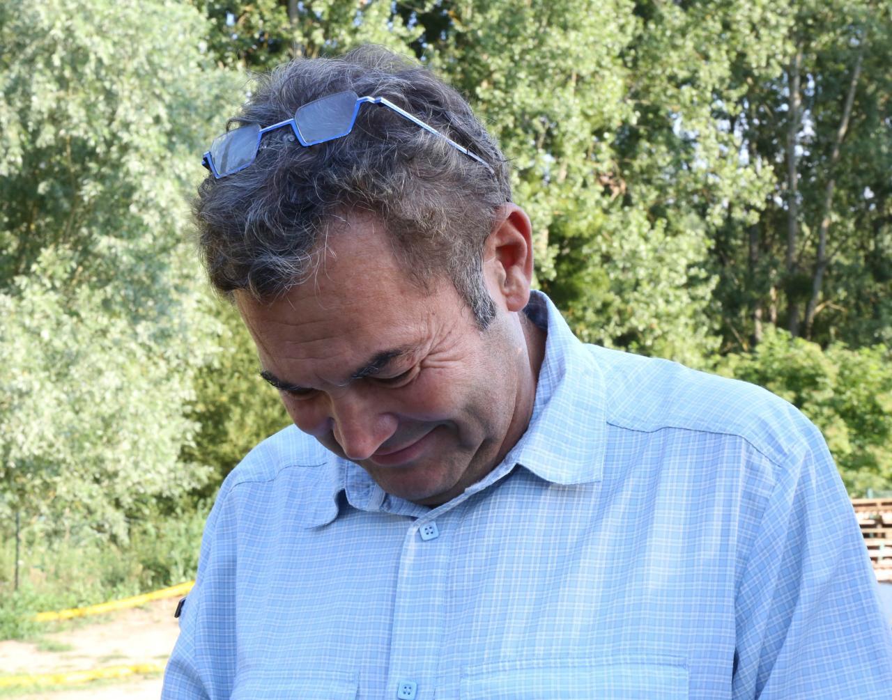 Monsieur Javouret, Maire de Sermaise